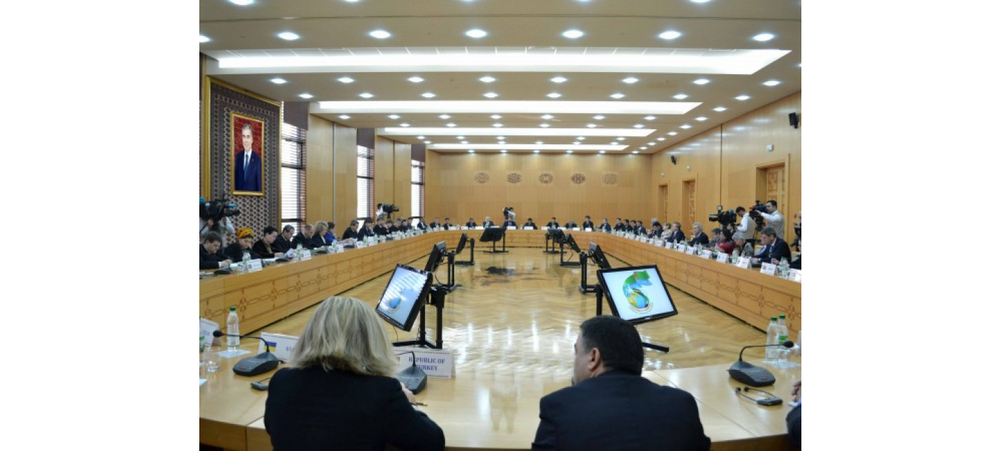 CONTINUATION OF THE INTERNATIONAL CONFERENCE DEDICATED TO THE NEUTRALITY OF TURKMENISTAN HELD IN THE MFA OF TURKMENISTAN