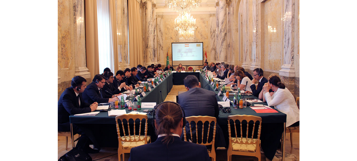A VISIT OF THE DELEGATION OF TURKMENISTAN TO AUSTRIA